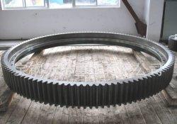 42CrMo 산업용 볼 밀 드라이브 스틸 변속기 대형 주조 금속 기어 톱니바퀴 휠