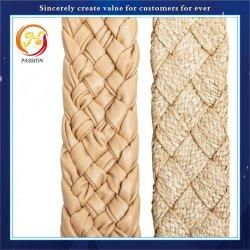 Gepersonaliseerde gekleurde Fashion Heavy Duty gevlochten elastische band, tas / kleding / Sandaalaccessoires