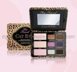 Fournir 80 % de remise des produits cosmétiques contenant de l'Oeil de stockage de l'ombre de l'étain Case Cas avec miroir nouveau style de boîte