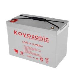 Cristal 12V 90Ah gran batería de plomo puro batería cargada de energía solar