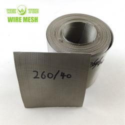72 * 15 / 260 * 40 메시 스테인리스 스틸 압출기 와이어 필터 메시 벨트 PP/ABS/PS/플라스틱 압출기 필터
