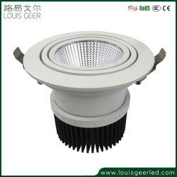 LED de haute qualité Downlight Led 34W de lumière au plafond bas Downlight encastré en aluminium léger