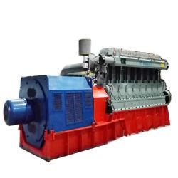 المصنع السعر منخفض السرعة مولد محرك كتلة حيوية من Syngas بقدرة 300 كيلو واط~1MW