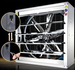 380V 220V 공기 환기 축방향 산업용 배기 냉각 벽 팬 가금류 하우스 온실 워크숍용 시스템 푸시 풀 배기 팬