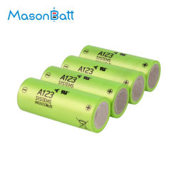 Batterie der Maurer-Batterie-LiFePO4 Zellen-26650 3.2V 2500mAh 30c für das Automobilbeginnen