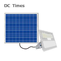 Vendre à chaud haute puissance prix bon marché en plein air en aluminium étanche IP65 Projecteur à LED solaire Eclairage extérieur
