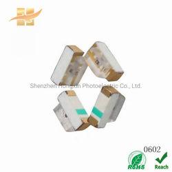0602 llevó la luz lateral vista lateral del ángulo derecho del Chip chip Epistar LED SMD