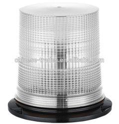 최고 밝은 DC12-48V 백색 SMD LED 두 배 저속한 회전하는 비상사태 기만항법보조, 크세논 나선형 전구 스트로브 번쩍이는 경고등