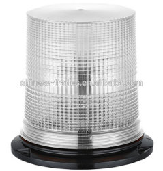 Super helles DC12-48V weißes SMD LED doppeltes grelles rotierendes Emergency Leuchtfeuer, Xenon-gewundener Birnen-Röhrenblitz-blinkende Warnleuchte