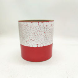 Portavelas de cerámica artesanal grandes candelabros con diseño personalizado