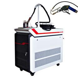 Draagbare automatische draadtoevoer 1000W-laserlasmachine voor Metaallegering