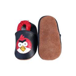أحذية الأطفال الجلدية ناعمة سول ناعم أول ووكر سرير للأطفال من جلد الصبي أحذية الأطفال الرضع غير Slip