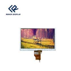 شاشة عرض LCD مقاس 7 بوصات تعمل بأقراص DVD للسيارة، شاشة TFT LCD مقاس 800 × 480