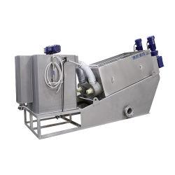 산업 폐기물 처리를 위한 기계적인 나사 압박
