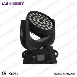 36pcs Rgbwauv 6en1 Cabezal movible LED Iluminación efecto lavado
