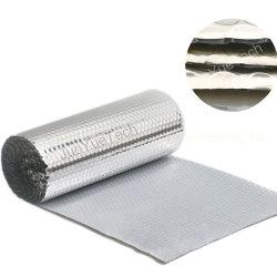 Bulle d'air Film avec du papier aluminium face
