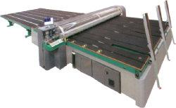 고속 가득 차있는 자동 유리칼 기계 매우 얇은 유리제 절단 기계장치