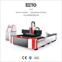 3000*1500mm schneidentisch-Laser-Ausschnitt-Maschine mit 3000W Ipg einzelnem Baugruppen-Lasersender