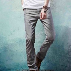 Herbst Jeans Stretch Hose Causal Hose für Herren
