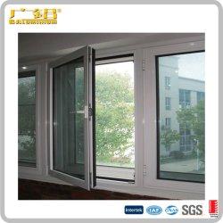 China Marca superior em alumínio de alta qualidade Janela Casement/Janela de folha simples ou duplo