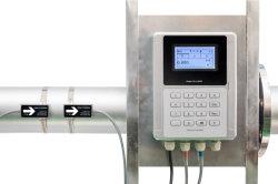 DN25-DN1200 Abrazadera en el medidor de flujo ultrasónico fabricante del medidor de calor