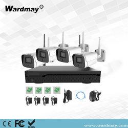 مجموعة NVR لاسلكية بدقة 1080p بمعدل 4 قنوات، ليلة الأشعة تحت الحمراء الداخلية الخارجية بدقة 1080p نظام WiFi CCTV لكاميرا IP بدقة 2.0 ميجابكسل