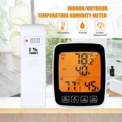 온실 차고를 위한 무선 습도 모니터를 가진 정확한 옥외 온도계