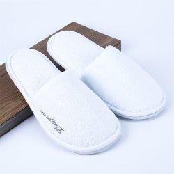 Pantoffel van het Hotel van Terry Towel Fabric de Close Toe EVA Enige Beschikbare