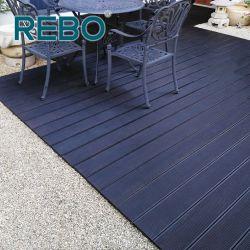 Haltbarer Eco ausgeführter Bambusplattform-Fliese-im Freienbodenbelag
