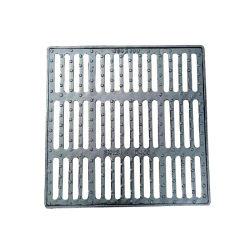 Pt124 D400 600*600 Praça em ferro fundido dúctil gradeamento de sarjetas drenagem com a Estrutura