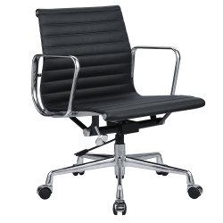 Ray y Charles Eames Réplica de la almohadilla de Ea Meetting Delgado 117 Equipo de oficina silla Conferencia invitado