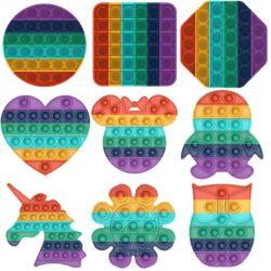 Нажмите всплывающее окно купол сенсорных игрушка аутизм необходимо подчеркнуть Squishy Reliever игрушки для детей для взрослых смешные Anti-Stress Pop она Fidget Reliver подчеркнуть