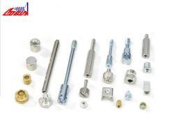 Il tornio su ordine che elabora i prodotti il tornio automatico, tornio di CNC parte il Pin di asse del metallo