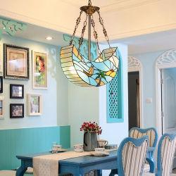 Tiffany-Art-Esszimmer-Anhänger beleuchtet Leuchter-Lampe (WH-TF-07)