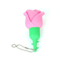 Disco variopinto del USB dell'istantaneo di memoria dell'azionamento della penna del USB 2.0 dell'azionamento 16g 32g 64G 128g dell'istantaneo del USB della Rosa del fiore per il marchio personalizzato