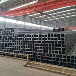 Q195 Q215 Q235 Q345/Welded nahtloses mildes Kohlenstoffstahl-Rohr/Schwarz-Stahlrohr-Quadrat/rechteckiges Gefäß