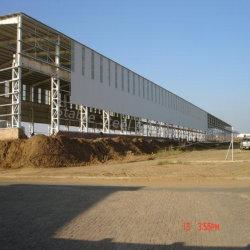 هيكل فولاذي سهل التركيب مبنى فابرونية معدنية مصنع لورشة العمل بسعر تنافسي