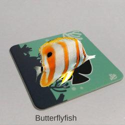 Bebé de 9 PCS de cartón para niños de educación temprana peces pequeños tarjetas AR