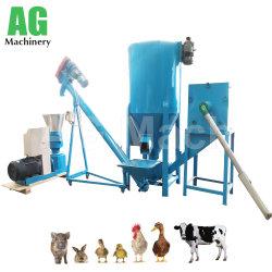 Macchina professionale della pallina dell'alimentazione animale della macchina dell'alimento del pollame per il pollo, maiale, pecora, anatra, bestiame