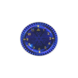 Custom Printing Metall Kunststoff Uhr / Car Guage / Uhr Zifferblatt