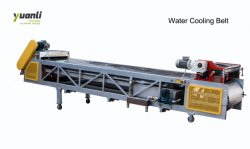 500kg/H Powder Coating Conveyor Belt Water Cooling Belt