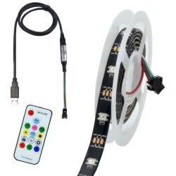 12/24V SMD5050 60LED/M LED 리본 라이트 실외 유연한 리본 라이트
