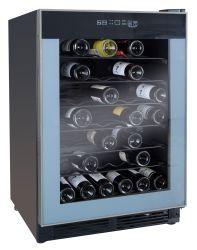 52 бутылок вина охладитель со светодиодной подсветкой и сенсорным экраном DOE ETL