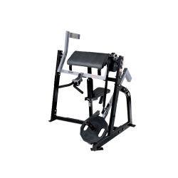 Ginásio Club utilizar máquinas bíceps sentado equipamento de fitness
