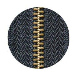 Messing-/Metallc$reißverschluss-heißer Verkaufs-Reißverschluss, geöffnetes Enden-Nylon-Reißverschluss
