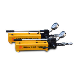手動送油ポンプの油圧ハンドポンプの手動ポンプ作動液