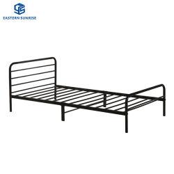 Singola base di camera da letto dell'insieme della mobilia del metallo del ferro dei capretti poco costosi domestici dei bambini