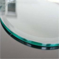 Ultra clair durcir en verre trempé clair porte en verre, l'escalier en verre clair, rambarde