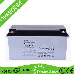 AGM van het onderhoud de Vrije Batterij 12V150ah van het Gel voor het Systeem van de ZonneMacht van UPS