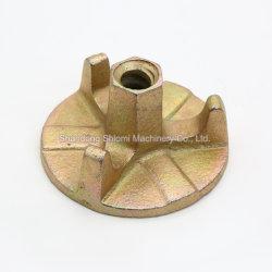 Accessoires de coffrage de béton préfabriqué tirant de matériaux de construction les écrous à ailettes
